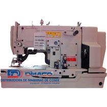 Máquina Ojaleadora Industrial, Alta Velocidad Dk-782 Dinnek