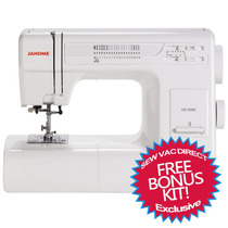 Tm Maquina Janome Hd3000 Heavy Duty Mechanical Sewing