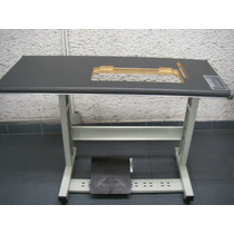 Mesa Y Estante Para Maquina De Coser Industrial