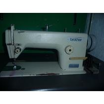 Maquina De Coser Recta Industrial Brother Mod Db7-b755-5a