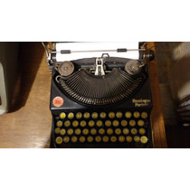 Máquina De Escribir Remington Con Estuche