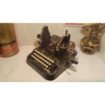 Maquina Escribir Antigua Oliver, Funciona, Coleccion Vintage
