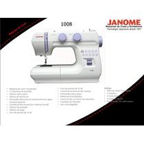 Maquina De Coser Portatil Janome 1008