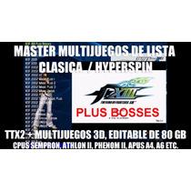 Master Multijuegos Lista Clasica Sempron Athlon 2 Ttx2 80gb
