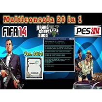 Master Multijuegos 20 En 1 Actualizado 2014 Disco Duro 500gb
