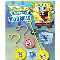 Capsula De 2 Pulgadas Con 50 Yoyo Balls Bob Esponja Chiclera