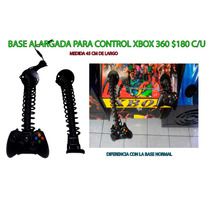 Base Larga Para Control De Xbox 360 De 45 Cm Calidad $180