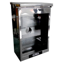 Caja De Proteccion Acero Inoxidable-saxxon Box01-gris +c+