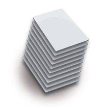 Paquete De 50 Tarjetas Mifare Rfid A 13.56mhz De Pvc Imprimi