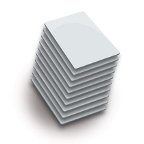 Zk Idcard02- Paquete De 10 Tarjetas Id/ Ultradelgadas De 0.8
