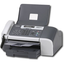 Máquina De Fax De Papel Regular Brother