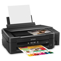 Impresora Epson Multifuncional L210 Tinta Continua