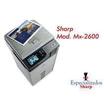 Copiadora Sharp Mx2600 Color Escaner Impresora Usb Copias