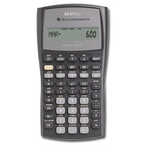 Calculadora Financiera Texas Instruments