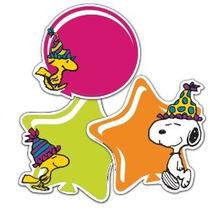 Eureka Peanuts Cumpleaños De Papel Surtido Cortes 12 Cada Un