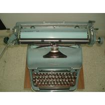 Maquina De Escribir Olimpia Impecable Solo Para Conocedores!