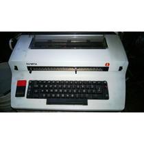 Maquina De Escribir Olimpia Eléctrica
