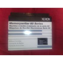 Cintas Xerox Memorywriter 60 Serie