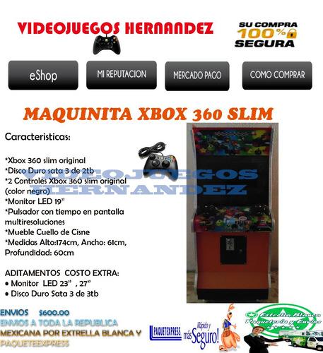 Maquinita Xbox 360 Slim