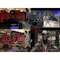 House Of The Dead 1y2 Videojuego Originales Completos Pc 3x1