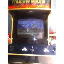 Cadilacs Y Dinosaurios Maquina De Video Juego