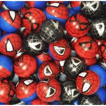 Spiderman Hombre Araña Pelota 1 Pulgada Maquina Chiclera