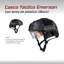 Gotcha, Paintball, Casco Táctico Militar Emerson Negro
