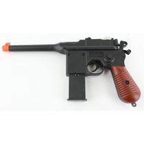 Juguete Marcadora 2 En 1 P1308 M777 Resorte 6mm Bbs Xtreme