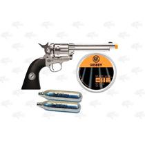 Marcadora Airsoft Co2 Colt Peacemaker 4.5 Pellet Metal Xtre