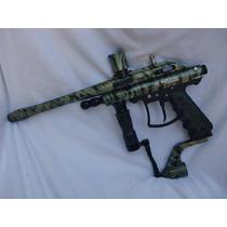 Pistola Marcadora Vl Maxis Surge Paintball Gotcha Camuflage