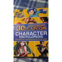 Libro Juegos-capcom 30th Anniversary Character Encyclopedia