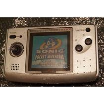Neo Geo Pocket Color Con Juego Sonic Pocket Adventure