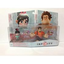 Set Figuras Disney Infinity Vanellope & Ralph El Demoledor