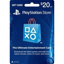 Tarjeta Playstation Store 20 Psn Card Mexicana Vadierk