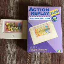 Action Replay 4m Plus+ Modchip+5 Juegos(sega Saturn)