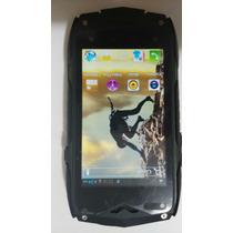 Celular Uso Rudo Smartphone Z6 Jeep Con Detalle Si Funciona