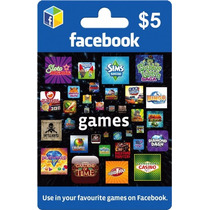 Tarjeta Gift Card Facebook $5 Usd Creditos Android Apple