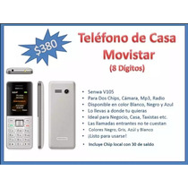 Telefono De Casa Movistar Con Saldo $30