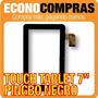 Touch Tablet China 7 Universal Pingbo Negra 100% Nueva!!!!!!