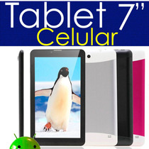 Tablet Celular 7 Dual Core 2 Sims Y Camaras Android 4.2