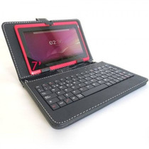 Tablet Android 8gb Dual Core 1gb Ram Con Teclado Funda