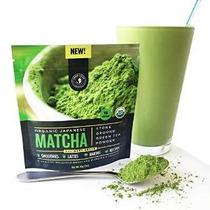 Hoja Jade - Orgánica Japonés Matcha Té Verde En Polvo, Clási