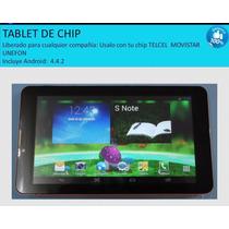 Tablet De Chip Camara Flash Wifi Internet Bluetooth