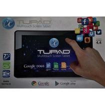Tableta Tupad 7 Android 4.4. Quadcore! 4gb Nueva C/gar 2cams