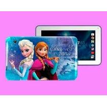 Tablet Infantil Marca Mobo Ana Y Elsa Frozen Dos Camaras