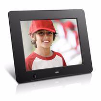Portaretrato Digital 8pulg Sensor 4gb Con Control Aluratek