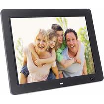 Portaretrato Digital 15pulg Hd Con Sensor 4gb Video Mp3 Negr