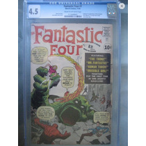 Fantastic Four #1 1961 Original!!! Cgc