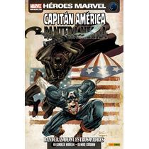 Capitan America / Pantera Negra Banderas De Nuestros Padres