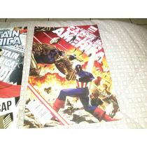 Comics Capitan America Lote Marvel